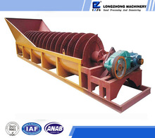 Reliable delivery device screw sand washing machine/sand washer, hot sell 100tph compact structure sand washer