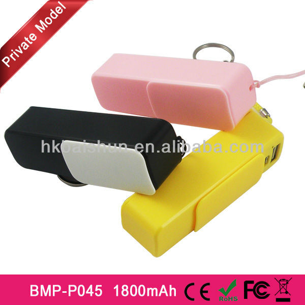 2014 latest unique design powerbank for mobile phone charger battery