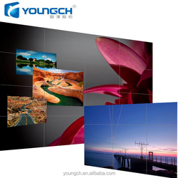 full HD digital display solution 46 inch LCD video wall 3.5mm ultra narrow bezel