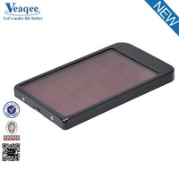 Veaqee best quality charger solar power bank 5000mah for smartphone