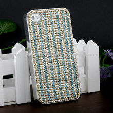 Handmake Diamond Strips Phone case Cover for Iphone 4/4s