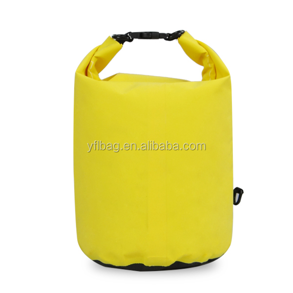 Hot sale PVC Sealock waterproof outdoor sport Survival Swimming dry bag for packing .