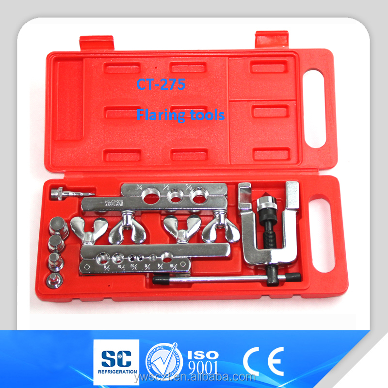 refrigeration tools copper pipe flaring swage tools kit CT-275