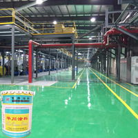 Oil Resistant floor paint without carbon epoxy anti static primer paint anticorrosive paint