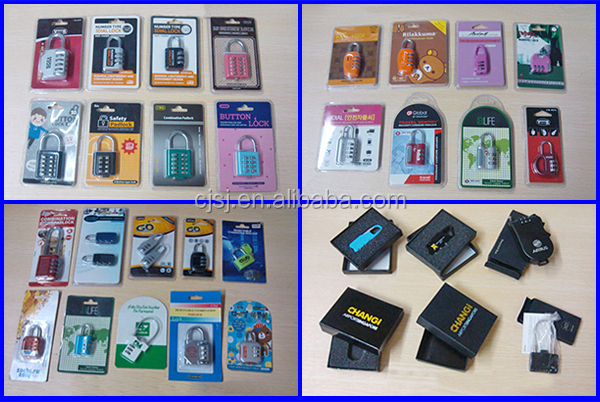 CJSJ TSA-551 factory directly safety lock zinc alloy TSA lock luggage 3 digit tsa padlock