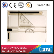 engineering and technical A4 Drawing Board Table with plastic set square plastic table