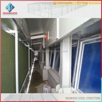 China light type cheap prefab broiler poultry farm house design