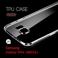 0.5mm Ultra Thin TPU Transparent Clear Protective Case for Samsung Galaxy Win I8552