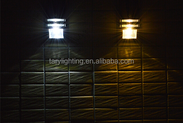 high quality high brightness solar wall light with PIR sensor, View solar wall light, Tary ...