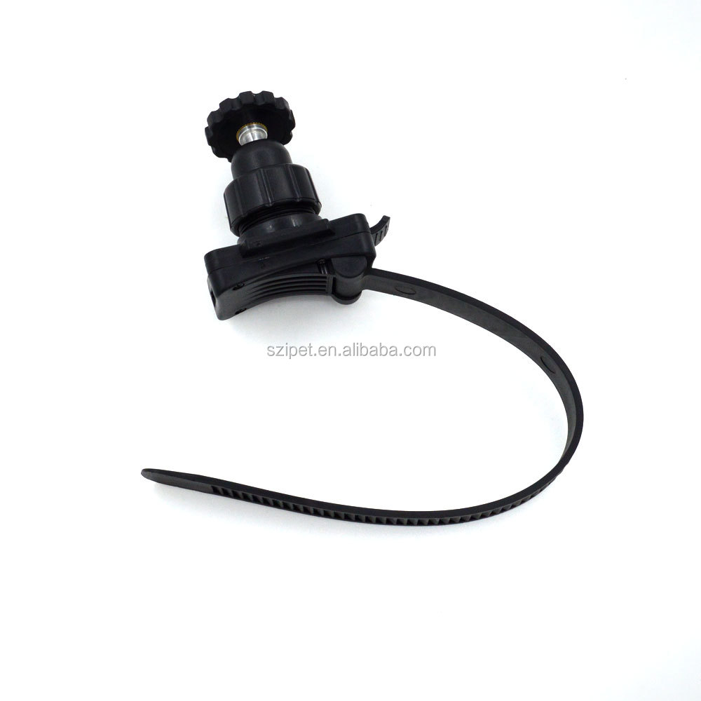 Belt type fixed bracket, can be used for bicycle helmets, bicycles, motorcycles, for GoPro Hero 4 3 + / 3/2/, Go Pro accessories
