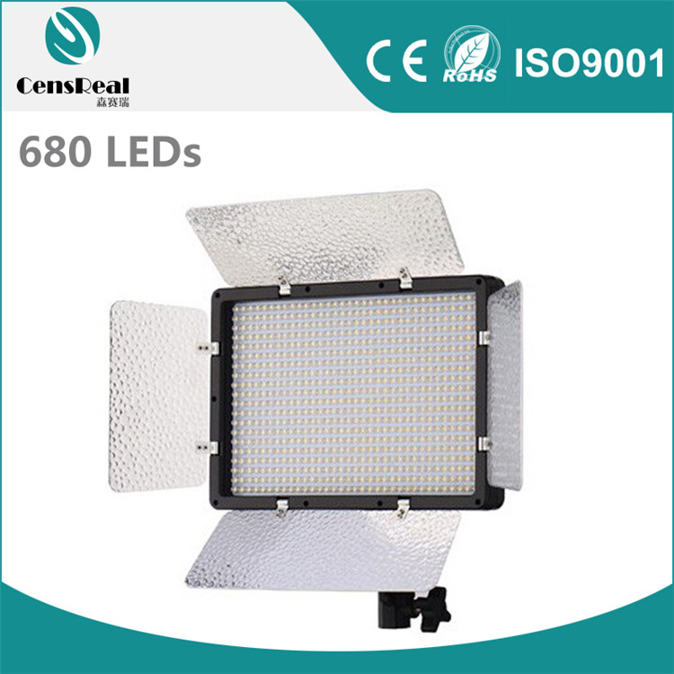 China supplier lightweight hiighest Panel Bi-color continue Studio film camera shooting LED Light