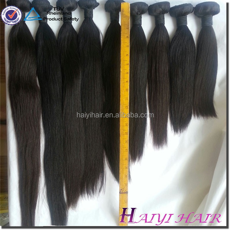 "20"" Silk Straight Virgin Hair No tangle no Shedding Fast <strong>delivery</strong>"