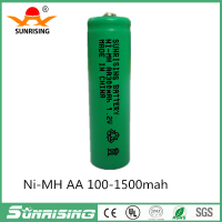 ni mh aa 300mah 1.2v rechargeable battery batteries