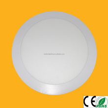 CE ROHS 18W recessed round ultra slim suspended LED flat ceiling lamp panel light