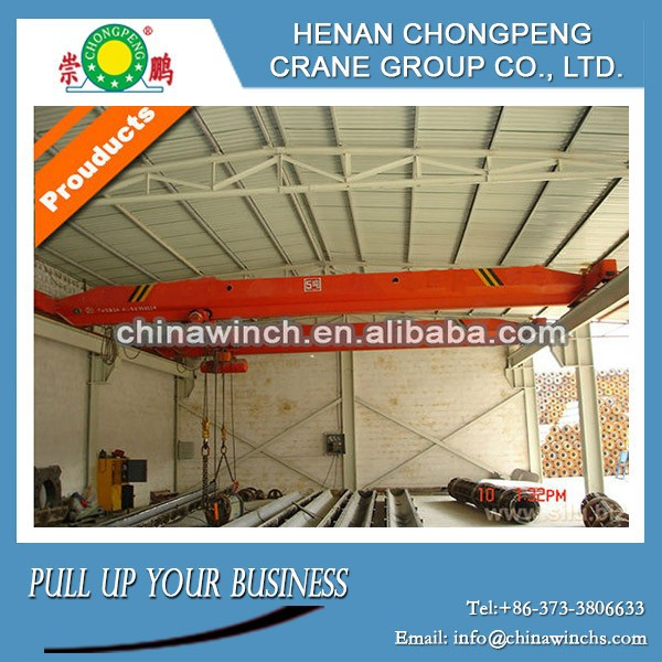 Electric Overhead Traveling Crane for Workshop