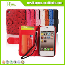 DOLISMA leather mobile phone case private label for apple iphone 4