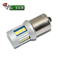 Hot selling!!! 1156 15smd Back-up Tail Light,high bright p21w 3030 led auto lamps car led fog turn light