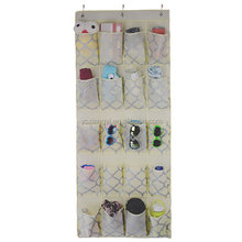 houseware nonwoven printed over the door hanging shoe organizer