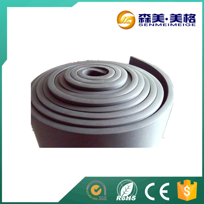 China supplier neoprene high density black foam rubber sheet