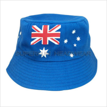 wholesale Australia flag summer hats