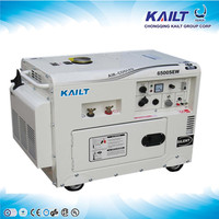 6500SEW used diesel welder generator for sale with high quality