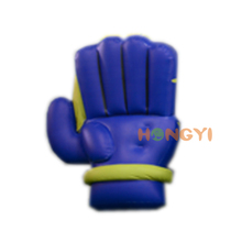 Factory design inflatable giant hand palm toy creative waterproof advertising gloves for sale