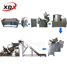 Supply Smalles scale 50kg/h potato chips making machine/ industrial potato chips semi automatic maker machine price list
