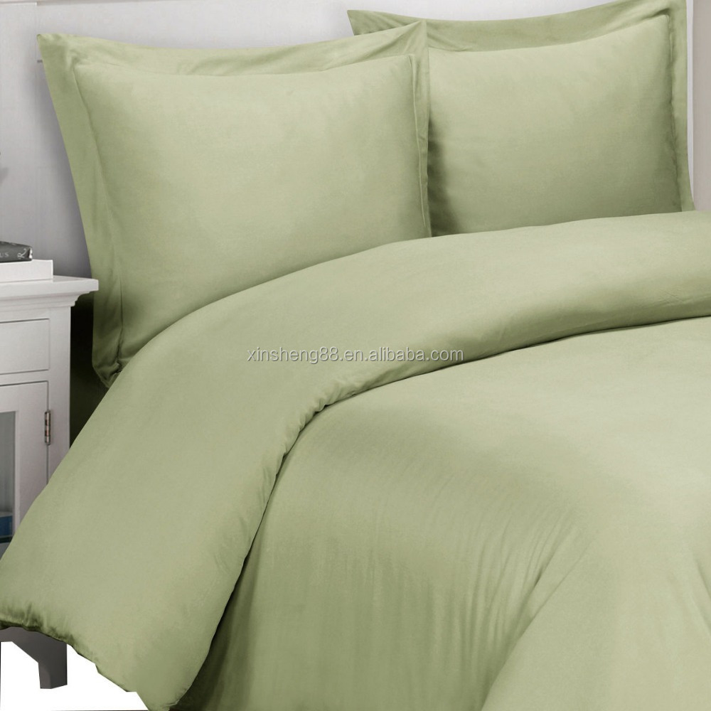 super soft 100% viscose from bamboo duvet set,300TC solid duvet covers