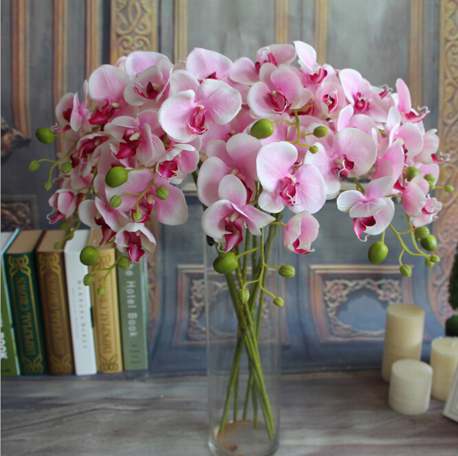 Fake wedding flowers bulk silk buds roses wedding flowers bouquets fake wedding flowers bulk gnw fabric flowers wholesale artificial orchid mightylinksfo