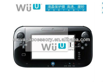 for Nintendo Wii U Screen Protector Guard Film