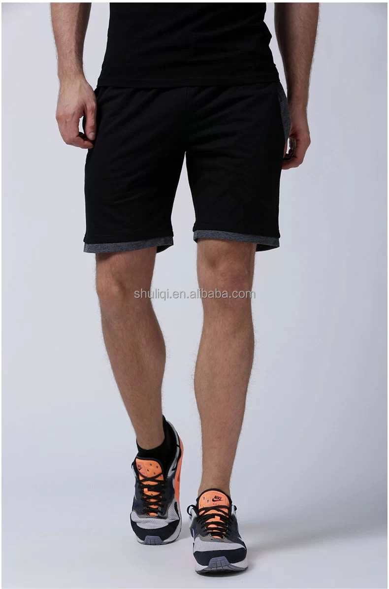 Cotton/polyester Blend Bermuda Shorts Sweat Gym Shorts Men ...