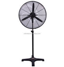 Powerful floor industrial fan, metallic fan, industrial stand fan