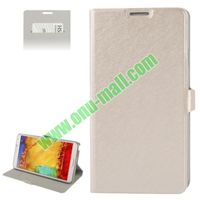 Wallet Pattern PU Leather Case for Samsung Galaxy Note III i9000 with Card-slot