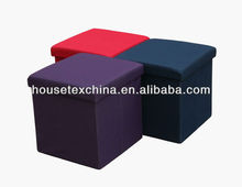 folding storage chair/ottoman