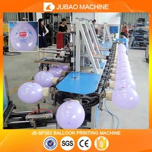 JB-SP302 Four colors five sides Latex balloon screen printing machine
