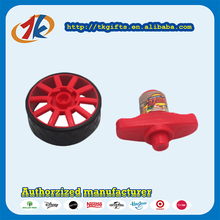 New Design Plastic Wheel Spinning Top Toys For Kids