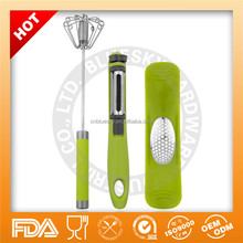 Cheap price and good quality 3 pieces garlic press and peeler set