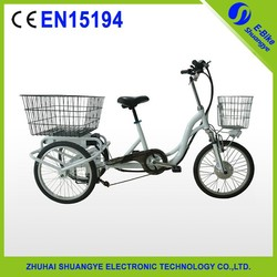 20 inch 250w-350w adult electric tricycle for handicapped