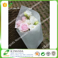 Kingsda economical pp spun bonded non woven flower wrapping paper