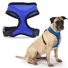 New Soft Comfortable Breathable Fabric Mesh Dog Harness