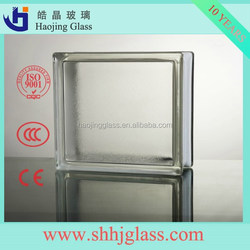 Hot sale led glass brick/glass block price with high quality