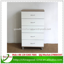 Knock down design wooden chest of drawresm,MDF chest of drawers