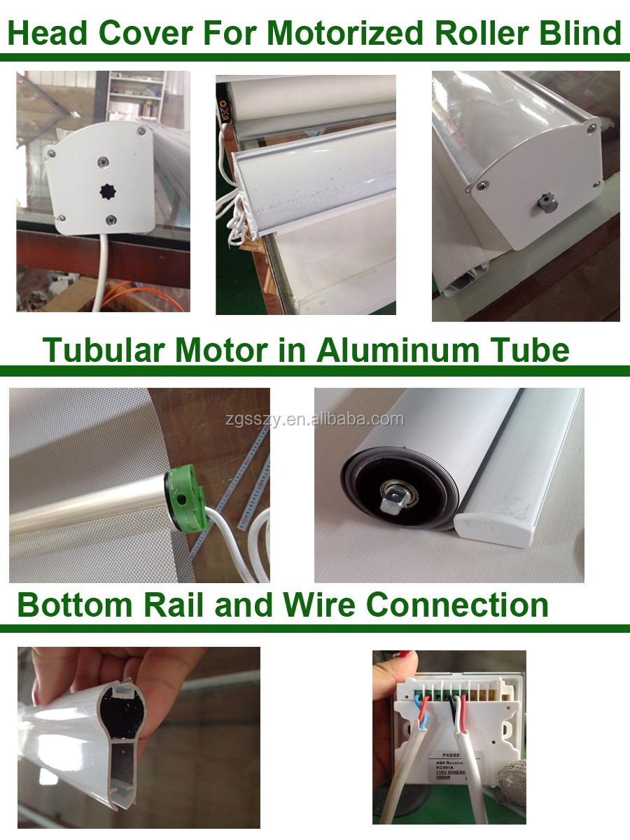 Customized Competitive Price Roller Blind In Stable Quality View Electric Roller Blinds