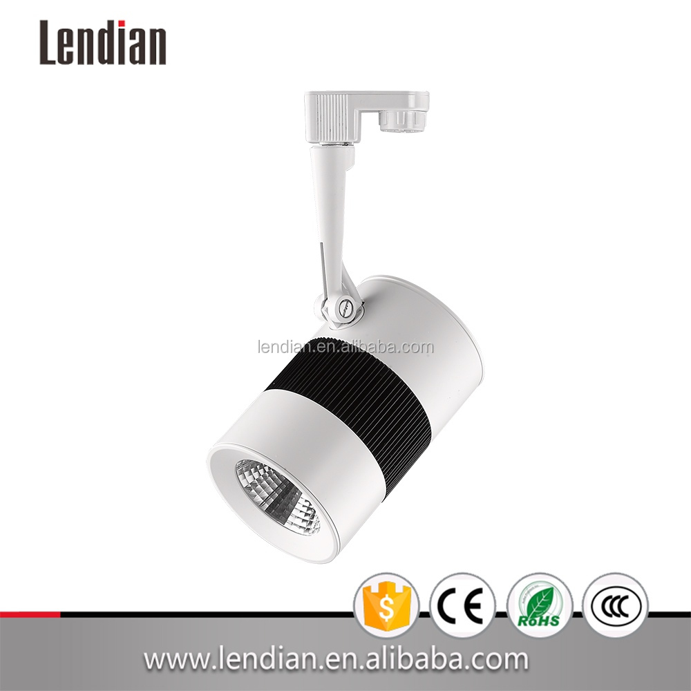 2016 NEW TYPE! 40w COB chip LED track light 38 degree 3000k warm white BEST suit for Museum and Villa focusable track light