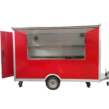 best quality mobile fast waffle food truck with customized dimensions