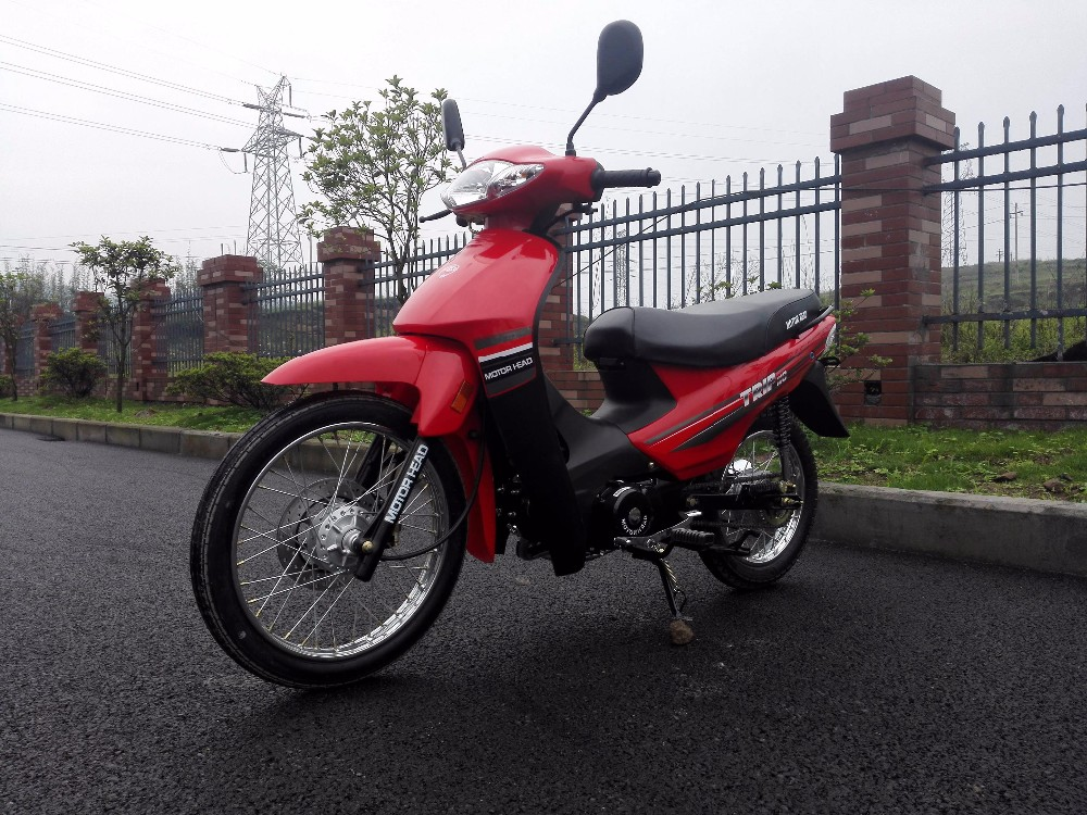 China mini 110 cub motorcycles,110cc mini bike.Chongqing motorcycles,red cub 110cc bike.
