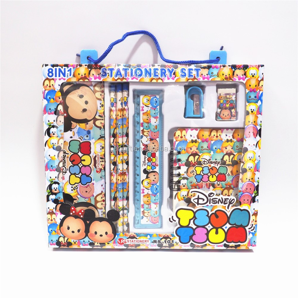 Cartoon Stationery Set Children Christmas Gifts Kids Learning Items Stationery Set For Students Children