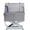 Professional stainless steel dog bathtub/dog grooming station H-107
