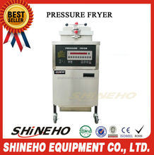 continuous frying machine/counter top pressure fryer/crispy fried chicken