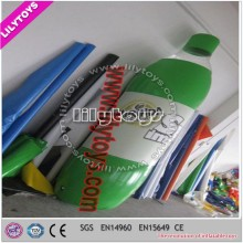 Top quality beer advertising products/bottle advertising inflatable